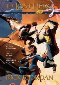 the lost hero graphic novel